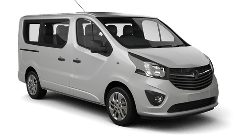 Alquiler coches 9 plazas